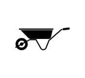 Wheelbarrow Icon. Gardening Tool Royalty Free Stock Image