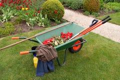 Free Wheelbarrow & Implements Stock Photo - 9056720