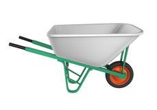Wheelbarrow Isolated Stock Image