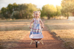 Wheelbarrow Royalty Free Stock Photography