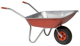 Wheelbarrow novo Fotografia de Stock