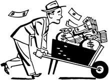 Free Wheelbarrow Of Cash Royalty Free Stock Photography - 42093837