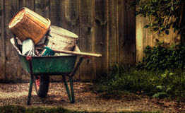 Wheelbarrow Royalty Free Stock Image