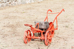 Wheelbarrow Planter Royalty Free Stock Photos