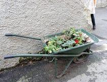 Wheelbarrow ready for use Royalty Free Stock Image