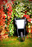 Wheelbarrow resting Royalty Free Stock Images