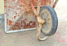 Wheelbarrow trolley Stock Photography