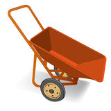 Wheelbarrow vector Royalty Free Stock Photo