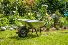 Wheelbarrow Royalty Free Stock Photo