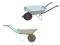 Free Wheelbarrows Royalty Free Stock Photography - 12766417