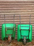 Wheelbarrows Stock Images