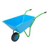 Wheelbarrows Stock Image