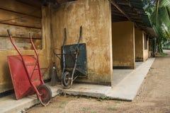 Wheelbarrows Royalty Free Stock Photography