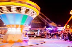 Roue panoramique par nuit Photographie stock libre de droits