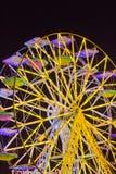 Roue panoramique par nuit Photo libre de droits