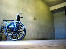 Wheelchair. In St-Joseph Church, Montr�al, Canada Stock Images