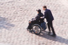 Wheelchair Royalty Free Stock Photography