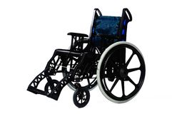 Wheelchair. Isolated wheelchair on a white background Royalty Free Stock Photos