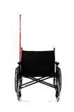 Wheelchair. Isolated wheelchair on a white background Royalty Free Stock Photo