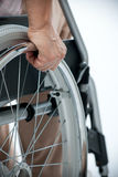 Wheelchair Royalty Free Stock Image