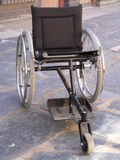 Wheelchair 2. Wheelchair Royalty Free Stock Images
