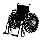 Wheelchair Stock Image