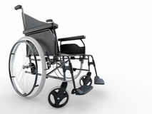 Wheelchair. 3d Stock Photos