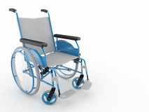 Wheelchair. 3d Royalty Free Stock Image