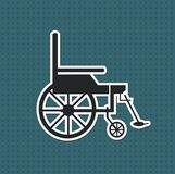 wheelchair Imagem de Stock Royalty Free