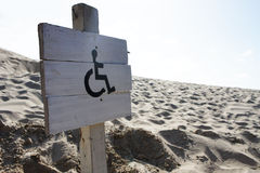 Wheelchair access Royalty Free Stock Photo