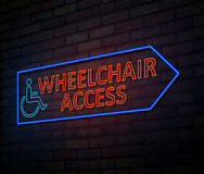 Wheelchair access concept. Stock Images