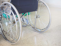 Wheelchair for accessibility people. Parking in hospital Royalty Free Stock Photos