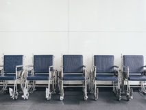 Wheelchair accessibility service in Hospital medical object Stock Photo