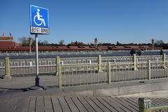 Wheelchair Accessible Sign Royalty Free Stock Image