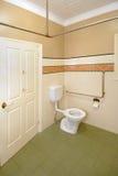 Wheelchair amentities facility. A disabled / wheelchair bathroom / toilet i stock photography