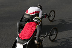 Wheelchair athletes Royalty Free Stock Photos