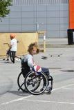 Wheelchair basketball Royalty Free Stock Photography