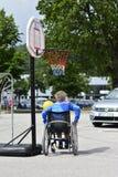 Wheelchair basketball Royalty Free Stock Photos