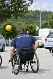 Wheelchair basketball Stock Photos