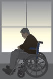Wheelchair Bound Royalty Free Stock Photos