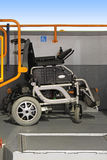 Wheelchair in bus Royalty Free Stock Photo