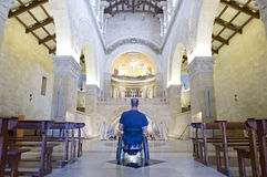 Wheelchair Church Worship Stock Photos
