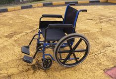 A Wheelchair stock photo