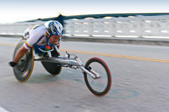 Wheelchair Competitor Stock Photos