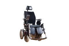 Wheelchair for disposable people Stock Images