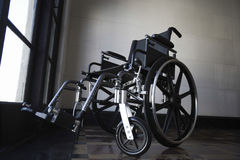 Wheelchair In Empty Room Royalty Free Stock Image