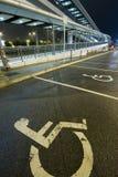 Wheelchair flyover Royalty Free Stock Photos