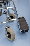 Wheelchair front wheels detail Stock Photography