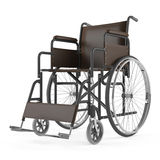 Wheelchair front  Stock Photos