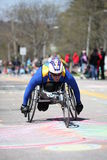 Wheelchair and Handcycle Racers participated in th Royalty Free Stock Image